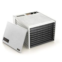 Excalibur 3926TW White 9-Tray Dehydrator, Free Ground Shipping (Cont. US Only)