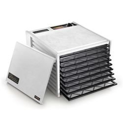 Excalibur 3900W White 9-Tray Dehydrator, Free Ground Shipping (Cont. US Only)