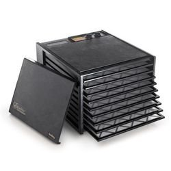 Excalibur 3926TB Black 9-Tray Dehydrator, Free Ground Shipping (Cont. US Only)