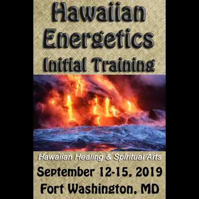 Hawaiian Energetics - Initial Training - Sept 12-15 2019 (Single Payment)