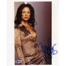 Jennifer Lopez Sultry Signed 8x10 Photo Certified Authentic Beckett BAS COA