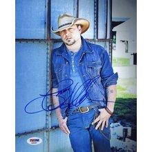 Jason Aldean Signed 8x10 Photo Certified Authentic PSA/DNA COA AFTAL