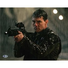 Tom Cruise Jack Reacher Signed 11x14 Photo Certified Authentic BAS COA
