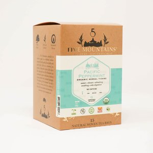 Pacific Peppermint Tisane: 15 Tea Sachets