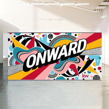 Word Mural Art