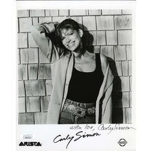 Carly Simon Signed 8x10 Photo Certified Authentic JSA COA