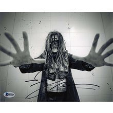 Rob Zombie Awesome Signed 8x10 Photo Certified Authentic BAS COA