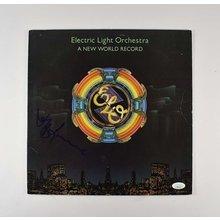 Jeff Lynne ELO Signed Record Album LP Certified Authentic JSA COA