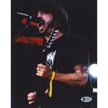 Dave Grohl Foo Fighters 'Nirvana' Signed 8x10 Photo Certified Authentic Beckett BAS COA