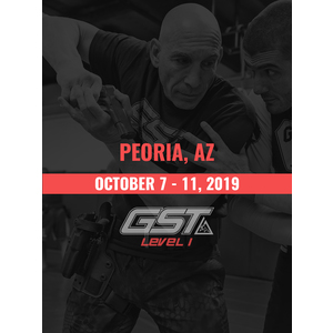 Level 1 Full Certification: Peoria, AZ (October 7-11, 2019) TENTATIVE