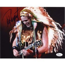 Ted Nugent Signed 8x10 Photo Certified Authentic JSA COA