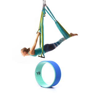 Yoga Trapeze & Wonder Wheel - Aqua