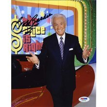 Bob Barker The Price is Right Signed 8x10 Photo Certified Authentic PSA/DNA COA