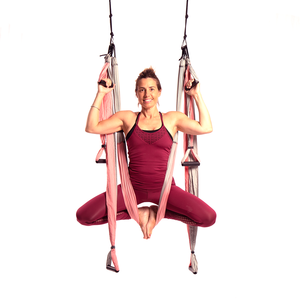 Free Shipping! Yoga Trapeze® - Baby Pink with Free DVD Tutorials