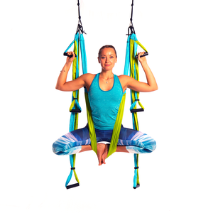 Free Shipping! Yoga Trapeze® - Aqua with Free DVD Tutorials