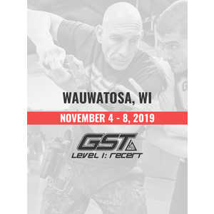 Re-Certification: Wauwatosa, WI (November 4-8, 2019) TENTATIVE