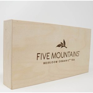 Five Mountains Wood Signage