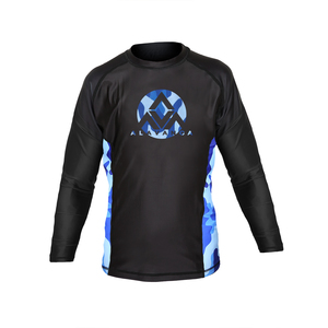 AV Winter Camo Long-Sleeve Rashguard (Kids)