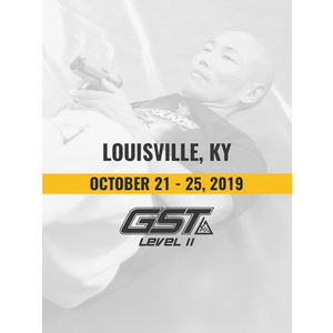 Level 2 Re-Certification: Louisville, KY (October 21-25, 2019)