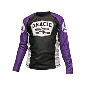 Purple Long-Sleeve Rashguard (Kids)