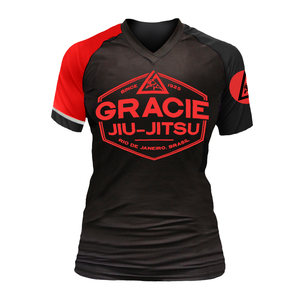 Black Rank Short-Sleeve Rashguard (Women)