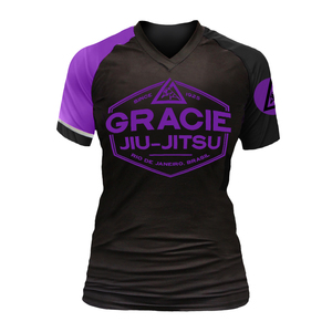 Purple Rank Short-Sleeve Rashguard (Women)