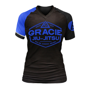 Blue Rank Short-Sleeve Rashguard (Women)