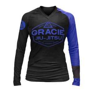 Blue Rank Long-Sleeve Rashguard (Women)