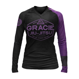 Purple Rank Long-Sleeve Rashguard (Women)