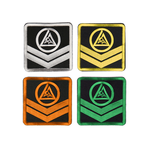 "Kids Velcro Chevron Patch (4x4"")"