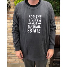 Terry Love Of Real Estate Sweatshirt