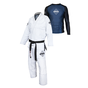 Gracie Diamondback Gi & Rashguard Set (Men)