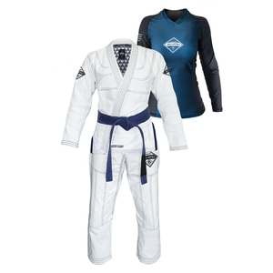Gracie Diamondback Gi & Rashguard Set (Women)