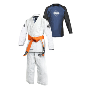 Gracie Diamondback Gi & Rashguard Set (Kids)