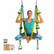 Yoga Trapeze® - Aqua with Free DVD Tutorials
