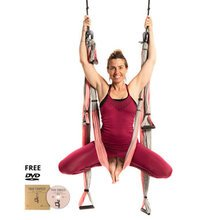 Yoga Trapeze® - Baby Pink with Free DVD Tutorials