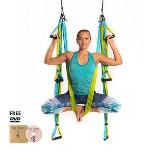 Yoga Trapeze® - Aqua with Free DVD Tutorials