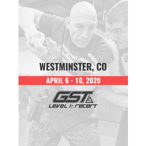 Re-Certification: Westminster, CO (April 6-10, 2020) TENTATIVE