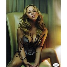 Mariah Carey Hot Signed 8x10 Photo Certified Authentic JSA COA