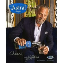 Jonathan Goldsmith Dos Equis Most Interesting Man in the World Signed 8x10 Photo Certified Authentic Beckett BAS COA