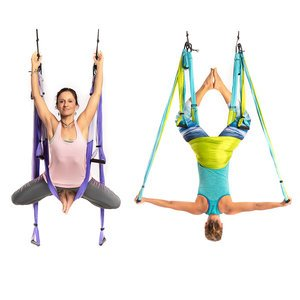 Wholesale Yoga Trapeze Mixed Colors Purple and Blue  - 10 Units