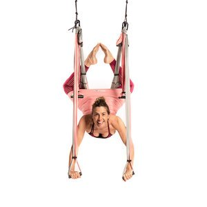 Wholesale Baby Pink Yoga Trapeze Kit - 10 units