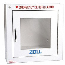 Zoll standard AED cabinet