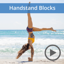 Handstand Blocks Yoga Flow Digital Program & Free PDF Pose Chart