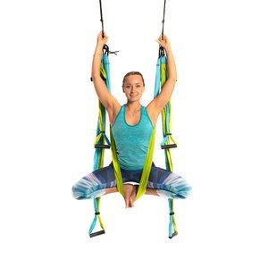 Yoga Trapeze de Color Azul. DVD Incluído