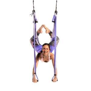 Yoga Trapeze de Color Lila - 10 unidades