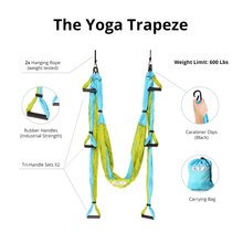 Yoga Trapeze - Aqua - $1 Trial (30 days) FREE DVD