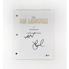 The Big Lebowski Bridges and Goodman Signed Script Certified Authentic Beckett BAS COA