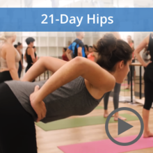 21-Day 'Hip Opening' Challenge | 17 Feb - 8 March, 2020