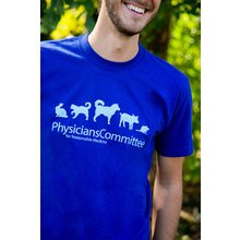 Physicians Committee Logo T-shirt: Unisex